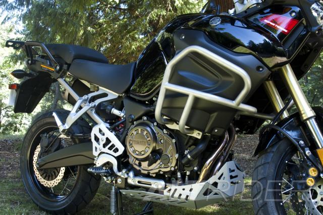 AltRider Skid Plate for Yamaha Super Tenere XT1200-Silver - Installed