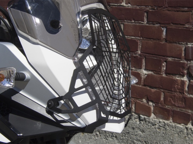 AltRider Stainless Steel Headlight Guard for the KTM 1050/1090/1190 Adventure / R - Installed