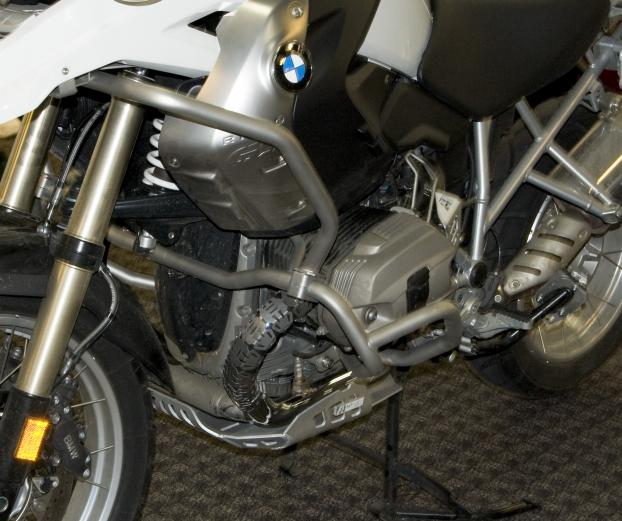 AltRider Universal Header Guards (pair)  - BMW R 1200 GS Adventure (2005-2013) - Installed