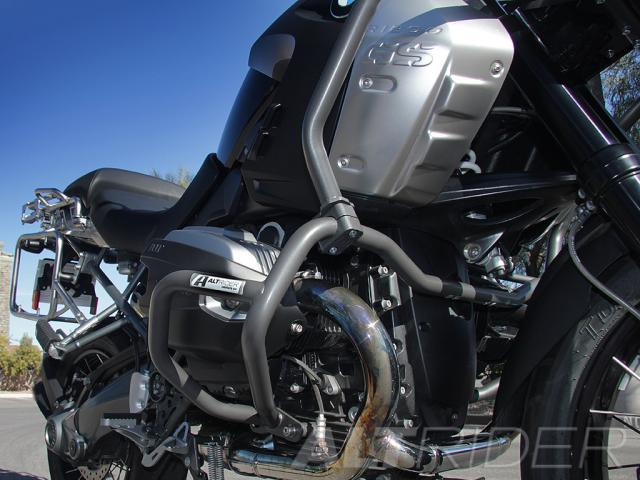 AltRider Upper Crash Bars Assembly for the BMW R 1200 GS /A (2008-2012) - Installed