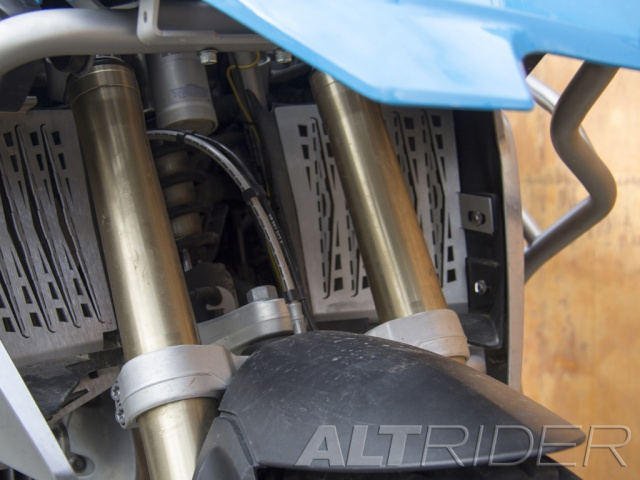 AltRider Upper Crash Bars for the BMW R 1200 GS Water Cooled (2013-2016) - Black - Installed