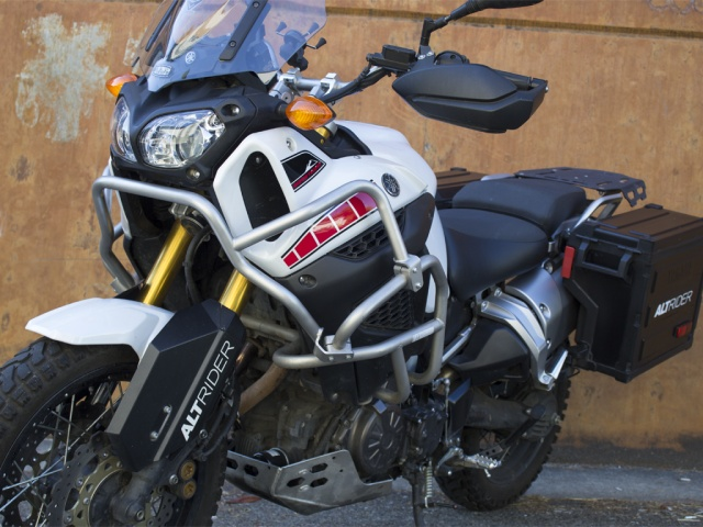 AltRider Upper Crash Bars for the Yamaha Super Tenere XT1200Z - Installed