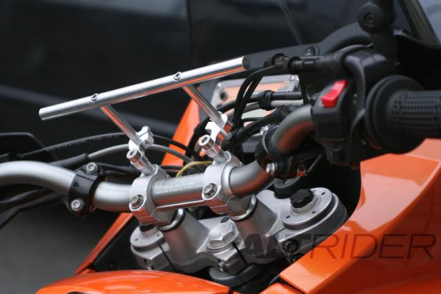 Universal Handlebar Mount - Installed