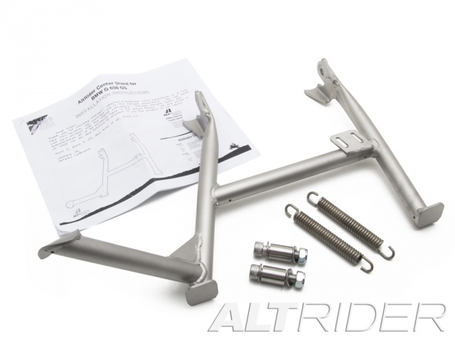 AltRider Center Stand for BMW G 650 GS - Silver - Product Contents