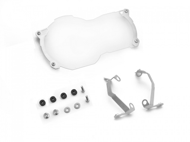 AltRider Clear Headlight Guard for the BMW R 1200 GS Water Cooled - Silver - Product Contents