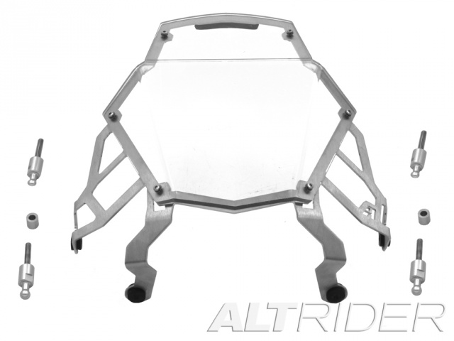 AltRider Clear Headlight Guard for the KTM 1190 Adventure / R - Product Contents