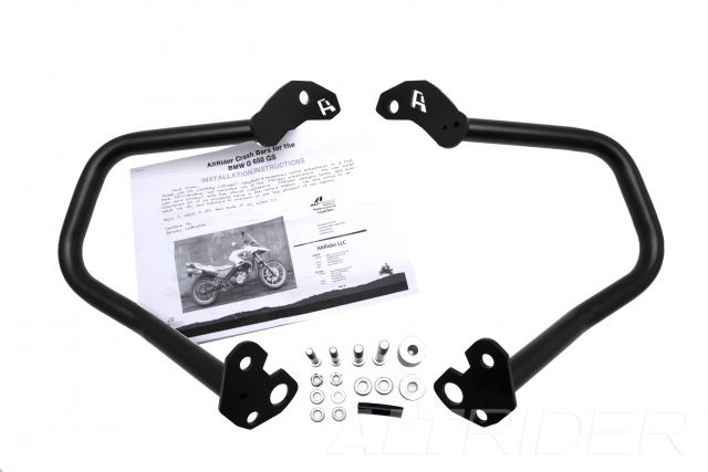 AltRider Crash Bars for the BMW G 650 GS - Product Contents