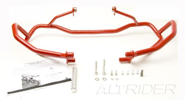 AltRider Crash Bars for the BMW R 1200 GS (2003-2012) - Red - Product Contents