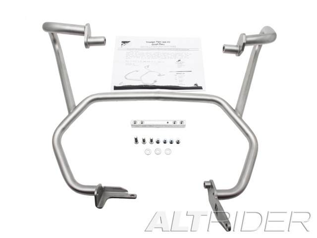 AltRider Crash Bars for the Triumph Tiger 800 - Product Contents