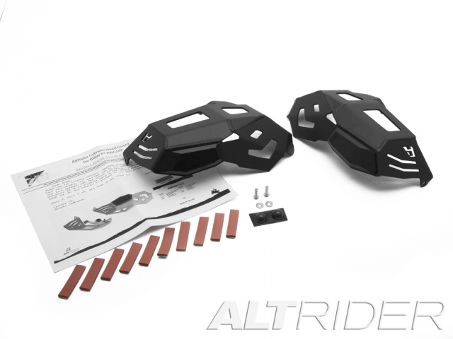 AltRider Cylinder Head Guards for the BMW R 1200 Water Cooled - Product Contents