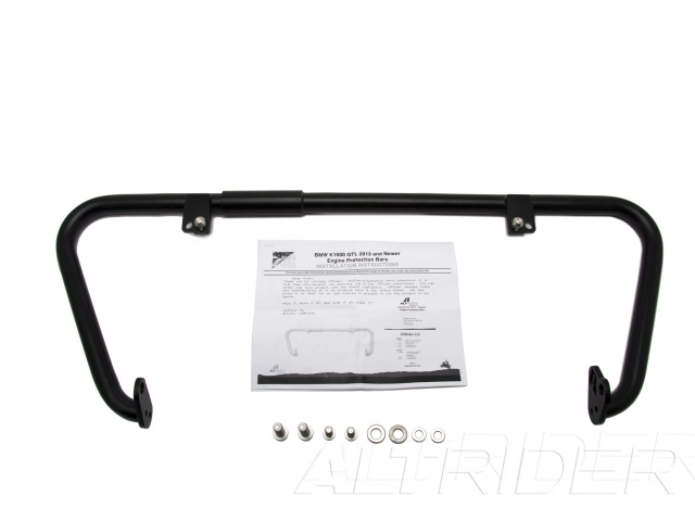 AltRider Engine Protection Bars for BMW K 1600 GT / GTL (2013-2016) - Black - Product Contents