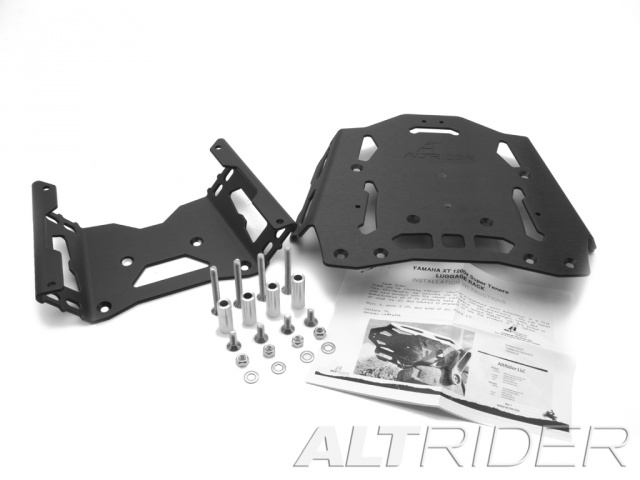 AltRider Rear Luggage Rack for Yamaha XT1200 - Black - Product Contents