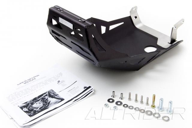 AltRider Skid Plate for Suzuki V-Strom DL 650 - Black  - Product Contents