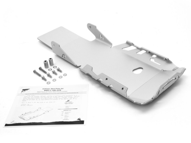 AltRider Skid Plate for the BMW R 1200 GS Adventure Water Cooled - Product Contents