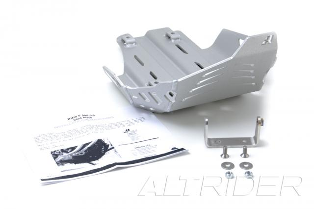 AltRider Skid Plate Kit for BMW F 650 GS - Silver  - Product Contents