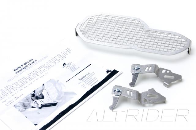 AltRider Stainless Steel Headlight Guard for the BMW F 650 GS - Product Contents