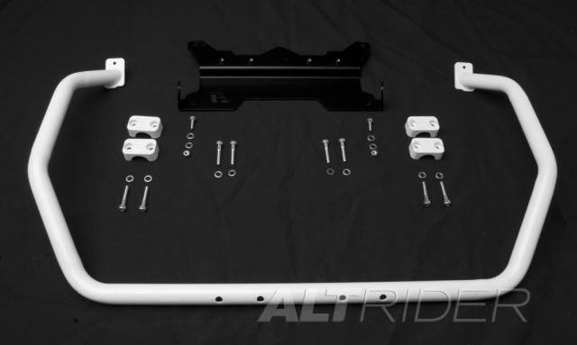 AltRider Upper Crash Bars Assembly for the BMW R 1200 GS (2008-2012) - White - Product Contents