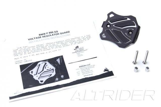 AltRider Voltage Regulator Guard for the Husqvarna TR650 Terra and Strada - Black - Product Contents