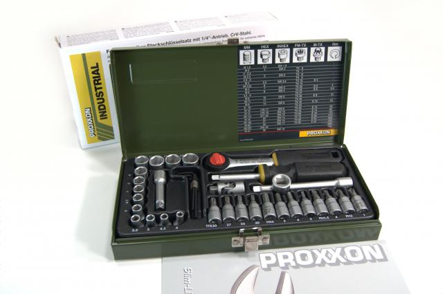 Proxxon 36-Piece Precision Engineer's Tool Set - Product Contents