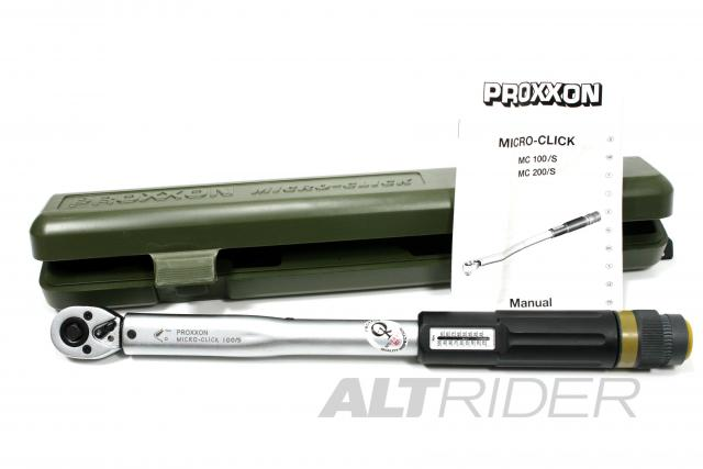"Proxxon MicroClick 100/S (3/8"") Torque Wrench - Product Contents"