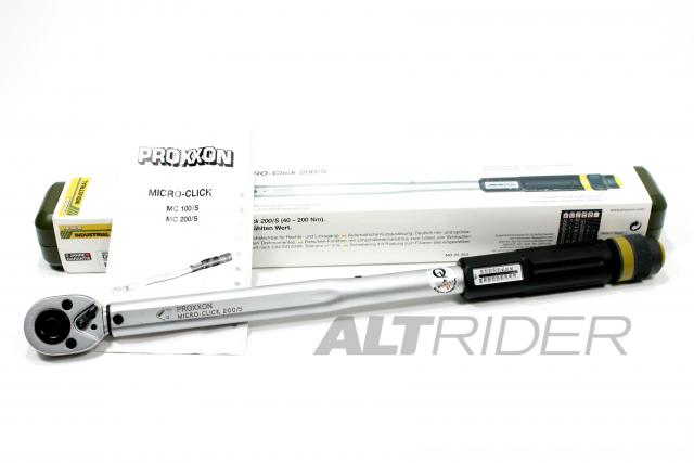"Proxxon MicroClick 200/S (1/2"") Torque Wrench - Product Contents"