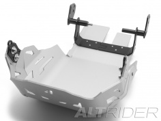 AltRider Skid Plate for the KTM 1190 Adventure / R (2014) - Silver - Feature