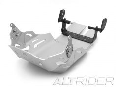 AltRider Skid Plate for the KTM 1290 Super Adventure (2015-2016) and T (2017-current) - Silver - Feature