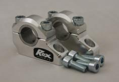 "ROX Pro-Offset Elite Block Riser 1 1/4"" Up or 1"" Back for 7/8"" or 1 1/8"" Handlebars - Feature"