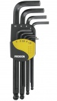 Proxxon 9-Piece Hex Wrench Kit with Spherical End - Feature