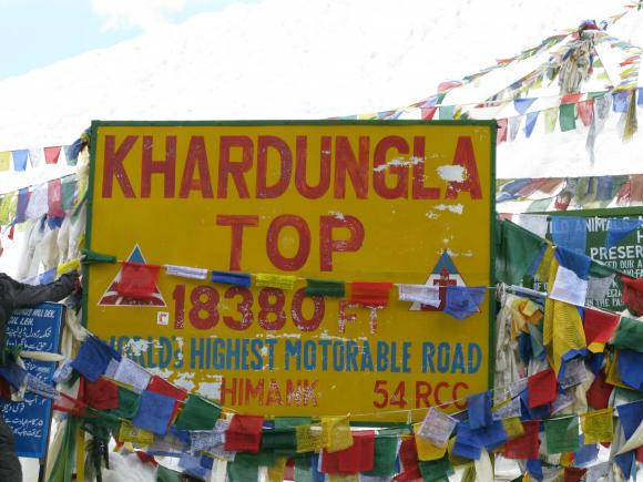 The World's Highest Motorable Road