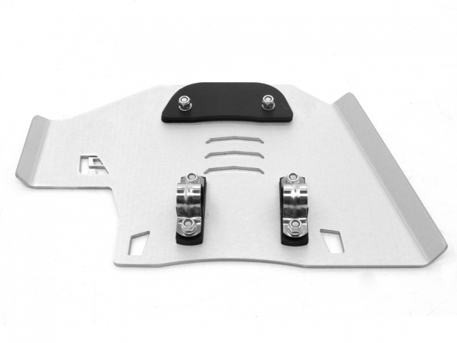 AltRider Center Stand Skid Plate for the Honda CRF1000L Africa Twin - Silver - Additional Photos