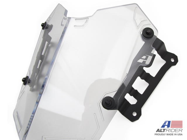 AltRider Clear Headlight Guard for the Yamaha Tenere 700 - Additional Photos