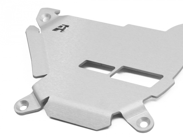 AltRider Clutch Side Engine Case Cover for the KTM 1050/1090/1190 Adventure / R - Silver - Additional Photos
