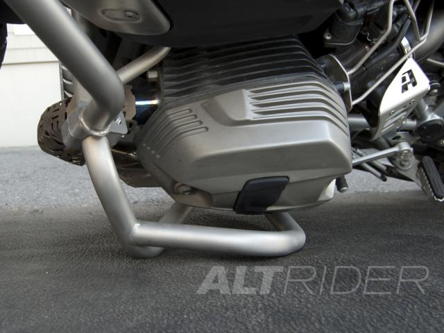 AltRider Crash Bars for the BMW R 1200 GS (2003-2012) - Silver - Additional Photos