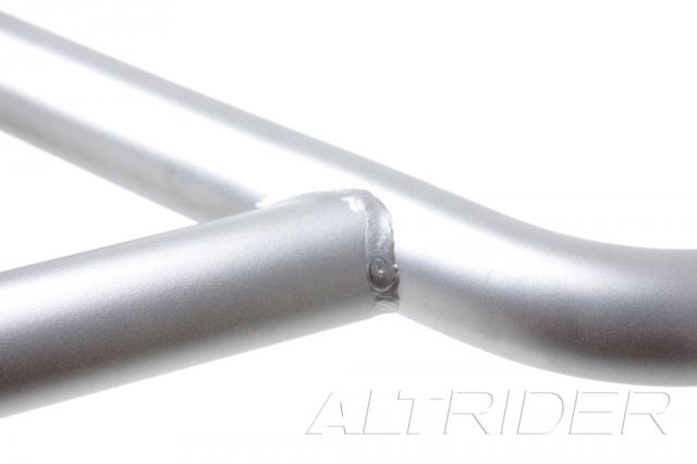 AltRider Crash Bars Kit for the BMW F 650 GS - Silver - Additional Photos