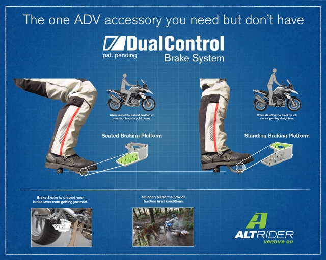 AltRider DualControl Brake System for the Yamaha Tenere 700 - Additional Photos