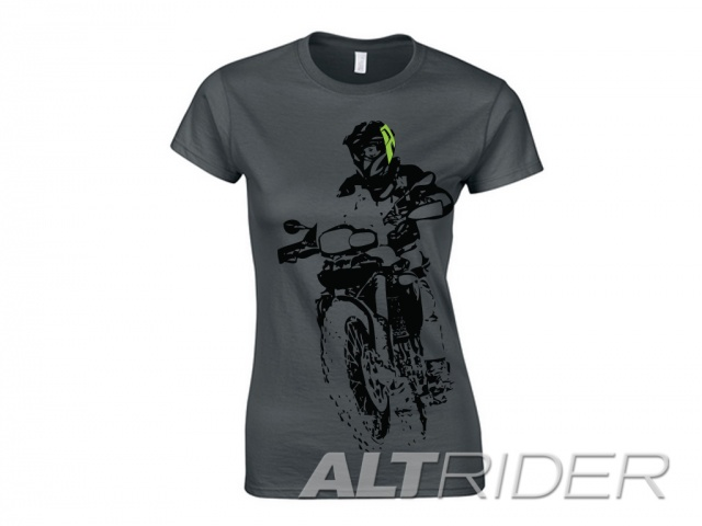 AltRider F 800 Throttle Up Women's T-Shirt - Additional Photos