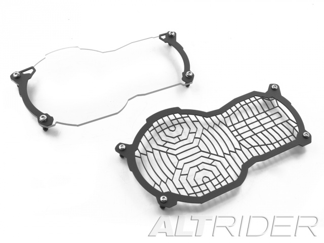 AltRider Headlight Guard Kit for the BMW R 1200 & R 1250 GS /GSA Water Cooled - Additional Photos