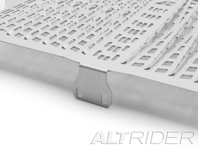 AltRider Radiator Guard for the KTM 1050/1090/1190 Adventure / R - Silver - Additional Photos