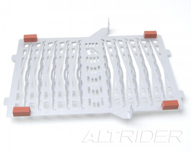 AltRider Radiator Guard for Triumph Tiger 800 (2011-2014) - Silver - Additional Photos