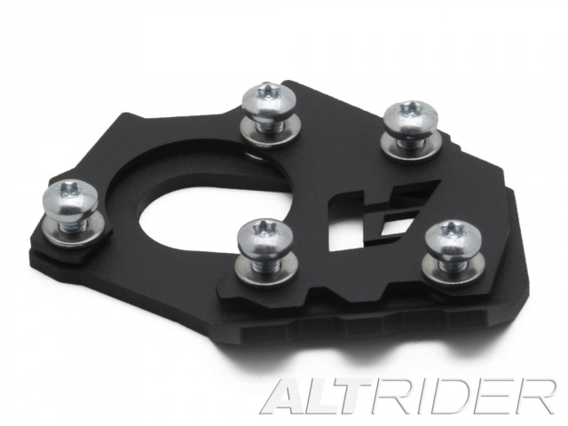 AltRider Side Stand Foot for the KTM 1290 Super Adventure - Black - Additional Photos