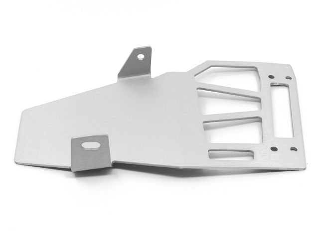 AltRider Skid Plate Extension for the Honda CRF1000L Africa Twin - Silver - Additional Photos