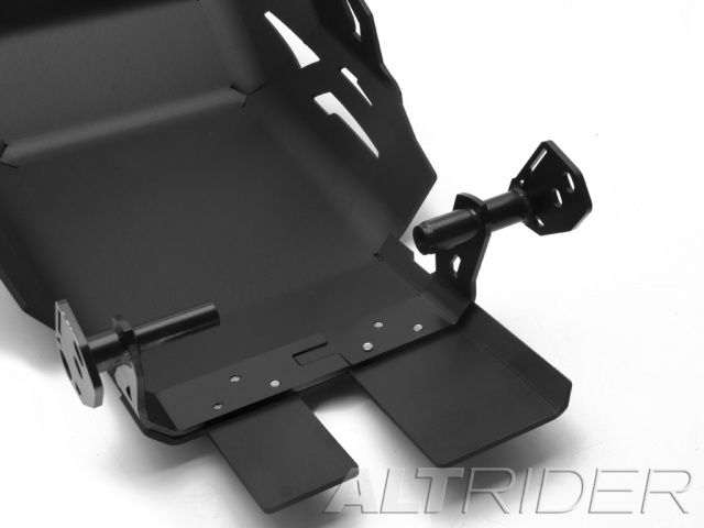 AltRider Skid Plate for the KTM 1050/1090/1190 Adventure / R - Black - Additional Photos