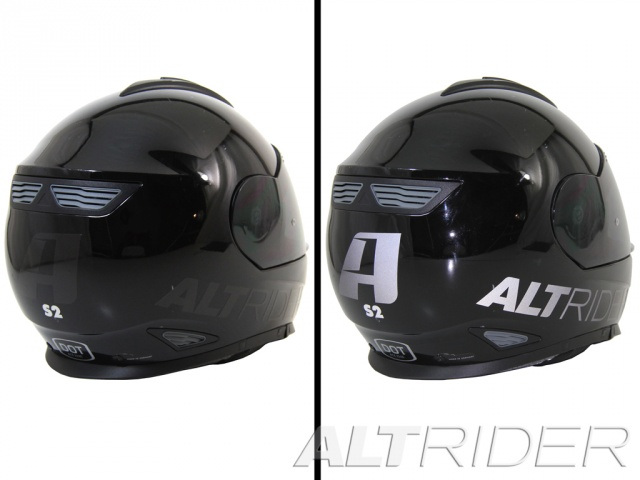 AltRider Universal Helmet Decal Kit - Additional Photos