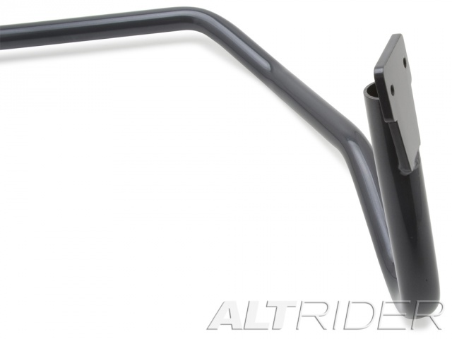 AltRider Upper Crash Bars Assembly for the BMW F 800 GS (2008-2012) - Triple Black (Grey) - Additional Photos