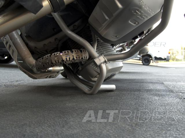AltRider Upper Crash Bars Assembly for the BMW R 1200 GS (2008-2012) - Triple Black (Grey) - Additional Photos