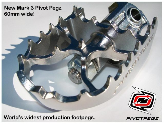 Pivot Pegz WIDE MK3 for BMW R 1200 GS Water Cooled - Additional Photos
