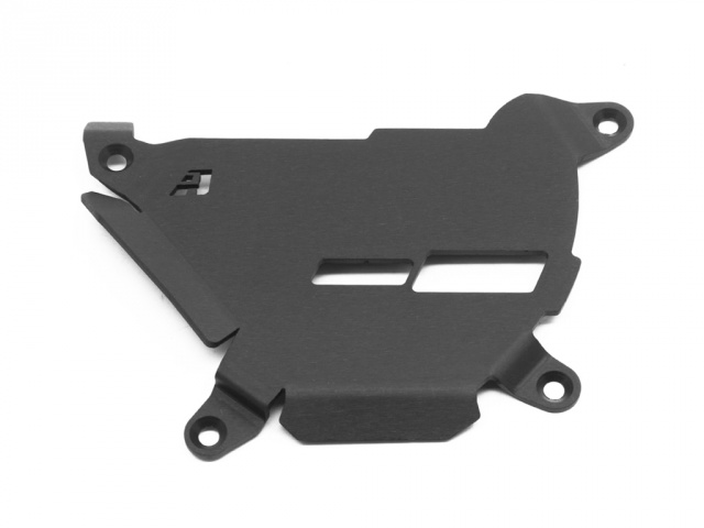 AltRider Clutch Side Engine Case Cover for the KTM 1050/1090/1190 Adventure / R - Black - Feature