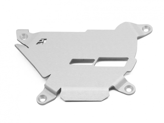 AltRider Clutch Side Engine Case Cover for the KTM 1050/1090/1190 Adventure / R - Silver - Feature