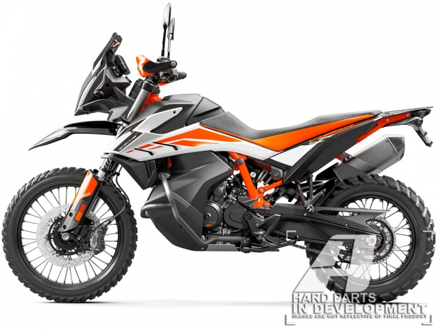 AltRider Crash Bars for the KTM 790/890 Adventure / R - Feature